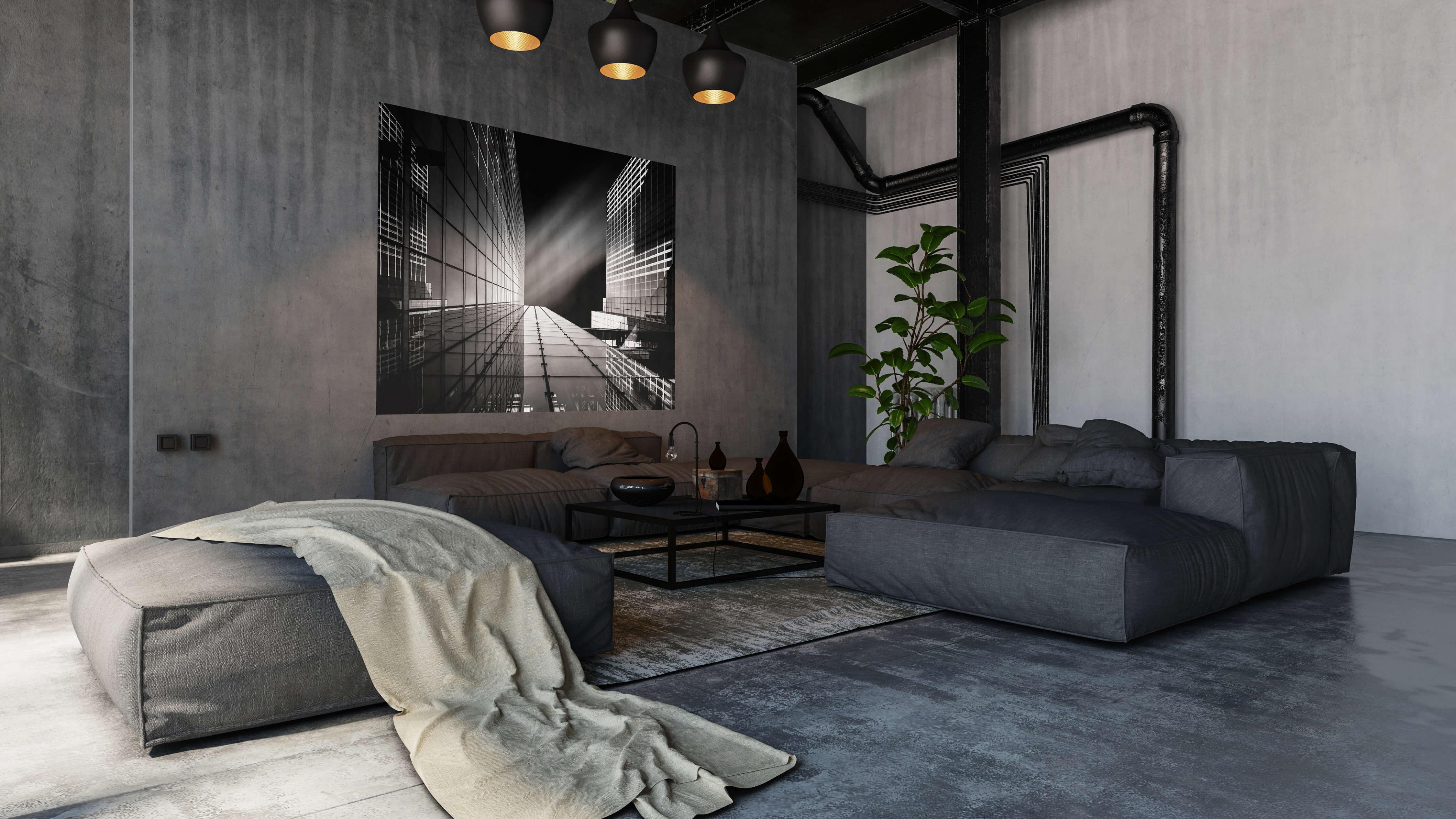 Referenz Loft Wohnung Wandbilder kaufen und Architekturfotografie Workshop buchen