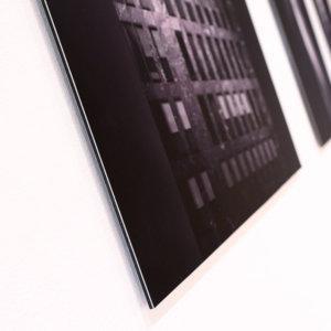 aluminium wandbild